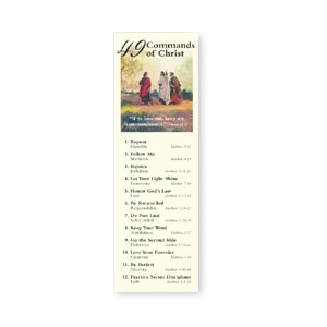 Commands of Christ Bookmark