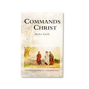 Commands of Christ Pocket Study Guide
