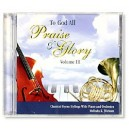 To God All Praise And Glory Vol.3 (CD)
