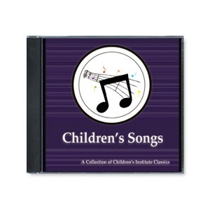Children's Songs from Children's Institute Collection (CD)