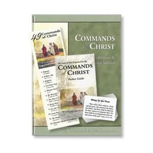 Commands of Christ Memorization and Meditation Tool Set