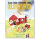 Making Brother & Sisters Best Friends Colouring Book